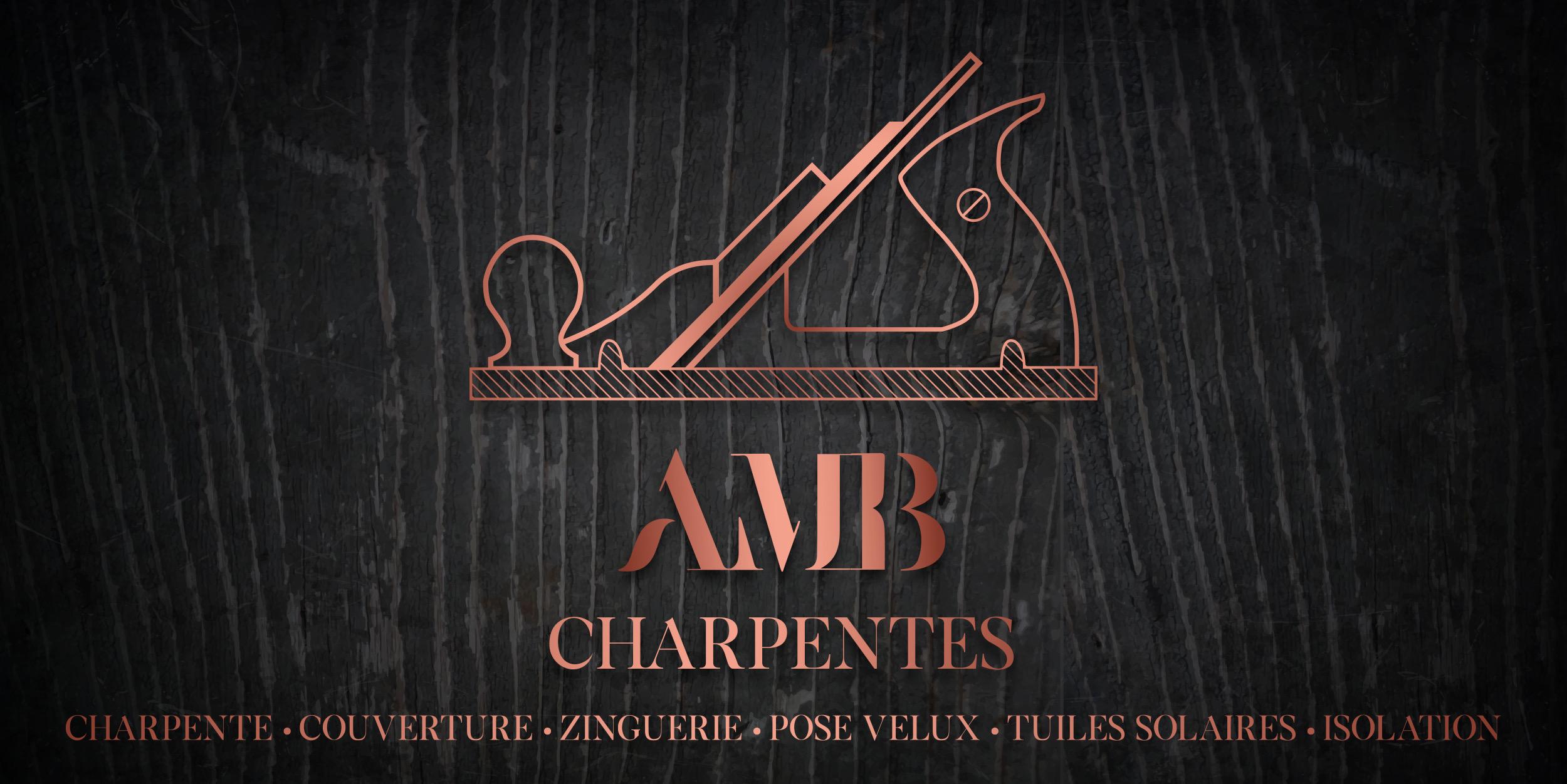 Refonte De Lidentite Visuelle Du Site Web AMB Charpente Strategie SEO Impression Panneaux Dibonds Plaquettes Et Cartes Visites